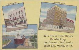 Michigan Soo Locks Leon A Deglman Hotels