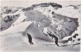 74. Pf. CHAMONIX-MONT-BLANC. Les Pistes Du Brevent Et Les Rochers Des Fiz. 3521 - Chamonix-Mont-Blanc