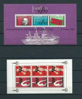 Netherland Antilles Lot 3x M/Sheet MNH,Postfris,Neuf Sans Charniere - Timbres