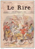 REVUE LE RIRE - JUIN 1895 - N° 33 - ILLUSTREE PAR WILLETTE , LEONNEC , ETC ... - GUILLAUME II ?? - MARIANNE - Zeitschriften - Vor 1900