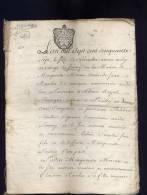 Côte D'or: 1757  Acte Mariage  16 Pages,  Gen Dijon ,   Soussey,  Pouilly En Auxois    S38 - Manuscrits