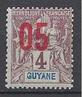 GUYANE N� 67 NEUF** LUXE