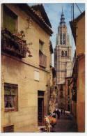 Espagne--TOLEDE--Rue Sainte Isabelle (animée Avec âne ),cpsm  95mm X 145mm  N°6 éd Arribas--Belle Carte - Toledo
