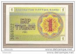 Kazakistan - Banconota Non Circolata Da 1 Tiyn - 1993 - - Kazakistan