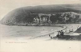 Cumbria Postcard - St Bees Head & Beach, Cumbria  A1351 - Cumberland/ Westmorland