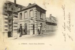CPA   (27) EVREUX  Caserne Amey - Evreux
