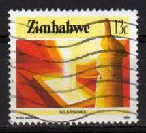 ZIMBABWE - 1985 YT 90 USED - Zimbabwe (1980-...)