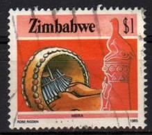 ZIMBABWE - 1985 YT 102 USED - Zimbabwe (1980-...)