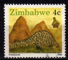 ZIMBABWE - 1990 YT 195 USED - Zimbabwe (1980-...)