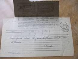 11-1485 Télégramme 1936 Service De Caheux Sur Mer Somme Eternit  Amiante Brighton Plage Houllier Villa Hope Cottage - Telegraphie Und Telefon