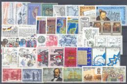 Yugoslavia,Sweden,Belbium,Finland,Germany,Switzerland,Netherlands,Cyprus EUROPA CEPT 1982 MNH ** - Yougoslavie