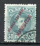 MARRUECOS 1903-1909, USADO - Marruecos Español