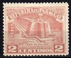 PARAGUAY - 1952 YT 486 * - Paraguay