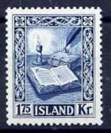 ICELAND 1953 Manuscripts 1k75  MNH (**) - Nuevos