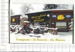 Carton  PUBLICITAIRE -   BOISSELLERIE Du HERISSON - Non Classés
