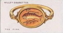 Wills Cigarette Card Lucky Charms No. 39 The Fish - Wills