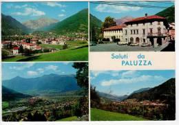 ^ PALUZZA CARNIA UDINE SALUTI DA VEDUTE 80 - Udine