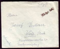 Polen - Krakau Kraków - Feldpost 1940 - 1939-44: 2. WK