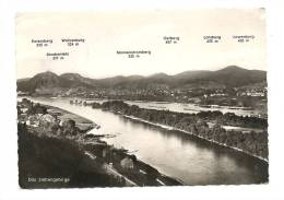 Cp, Allemagne, Les Sept Montagnes, Voyagée 1957 - Koenigswinter