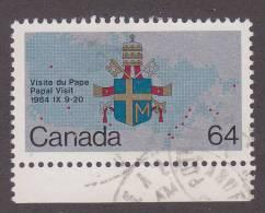 Scott # 1031 Papal Visit - Gebruikt