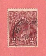 AUS SC #29  1924 King Geoge V CV $12.50 - 1913-36 George V: Heads