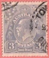 AUS SC #30  1924 KING GEORGE V CV $7.75 - 1913-36 George V: Heads