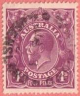 AUS SC #32  1921 KING GEORGE V CV $21.00 - Usati