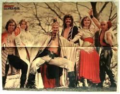 Musik Poster  - Dschihgis Khan  -  Rückseitig Blondie  -  Ca. 52 X 39 Cm  -  Von Bravo  Ca. 1981 - Manifesti & Poster