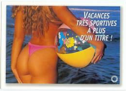 Vacances Trés Sportives à Plus D´un Titre - Nus Adultes (< 1960)