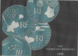 EUROS Des Régions.  2010  27 Pièces - Frankreich