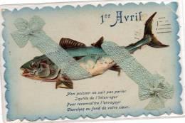 Fantaisie                Poisson Du  Premier  AVRIL - 1° Aprile (pesce Di Aprile)