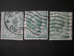 REGNO - 1906, 5 Cent Verde, Us. - Usati
