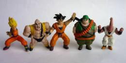LOT 5 FIGURINES PAS GASHAPON - DRAGON BALL Z - DBZ Divers Personnages (voir Photo) - Dragon Ball