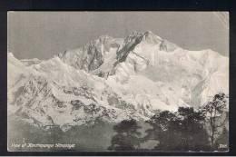 RB 922 - Early Nepal Postcard - View Of Kinchinjunga Himalaya - Mountaineering Climbing Theme - Nepal