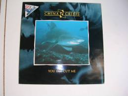 """MAXI - CHINA CRISIS - VS 799-12  """" YOU DID CUT ME """" + 2 ( REQUIN ) - 45 T - Maxi-Single"""