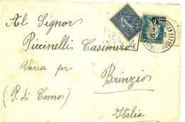1926 - Francia Lettera     9/42M - Storia Postale