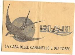 "LBL15 - ITALIE - TELEGRAMME ILLUSTRE "" CARAMELLE ELAH"" AOUT 1938 - Sonstige"