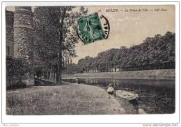 Melun - La Pointe De L´île, Animée, Pêcheurs, ND N° 36 - Melun