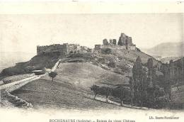 Ardèche- Rochemaure -Ruines Du Vieux Château. - Rochemaure