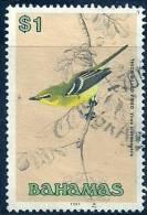 Bahamas 1991 Birds Aves Oiseaux Vegels Vireos Greenlets Thick-billed Vireo - Vireo Crassirostris Canc - Cuckoos & Turacos