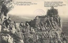 Ardèche- Saint-Péray -Ruines Du Vieux Château Féodal De Crussol (XIIe Siècle). - Saint Péray