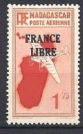MADAGASCAR AERIEN FRANCE LIBRE N� 46 NEUF** LUXE