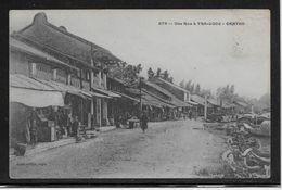 Une Rue à TRA-LUOC  --  CANTHO - Cartes Postales