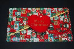"JAPAN  Telefonkarte  "" Merry Christmas   ""    Gebraucht - Japan"