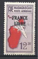 MADAGASCAR AERIEN FRANCE LIBRE N� 49 NEUF** LUXE