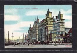 36237      Regno  Unito,  Liverpool -  Lime  Street  Station, - Liverpool