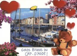 (301) Ours En Peluche - Teddy Bear - Cap D'agde - Jeux Et Jouets