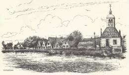 Cp Durgerdam (N.H) Amsterdam Verso Tp - Eglises Et Cathédrales