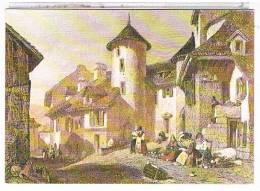 15  VIC  SUR  CERE   REPRODUCTION  D APRES UNE  LITHOGRAPHIE  ANCIENNE  CPM   TBE - France