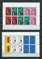 Netherlands 6x Complete M/Sheet MNH,Postfris,Neuf Sans Charniere(D-129) Cat.Michel 73 Euro - Collections (en Albums)